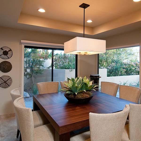 Grandes consejos e ideas para iluminar la mesa de tu - Iluminacion para comedor ...