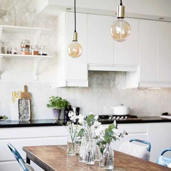 Iluminar Mesa Comedor # Inspiração de design de lâmpada para ...