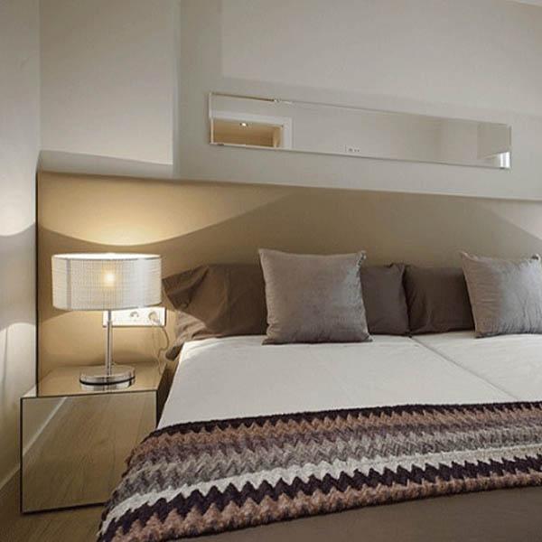 Lamparas pared dormitorio comprar blanco nrdico moderno - Apliques pared dormitorio ...