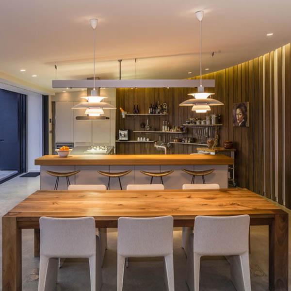 Modelos de lamparas de techo para cocina en cocina de techo bajo with modelos de lamparas de - Iluminacion para cocinas modernas ...