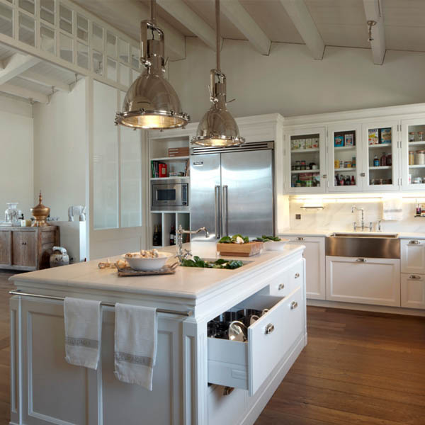 Que l mpara de techo elegir para mi cocina blog de - Lamparas para cocinas rusticas ...