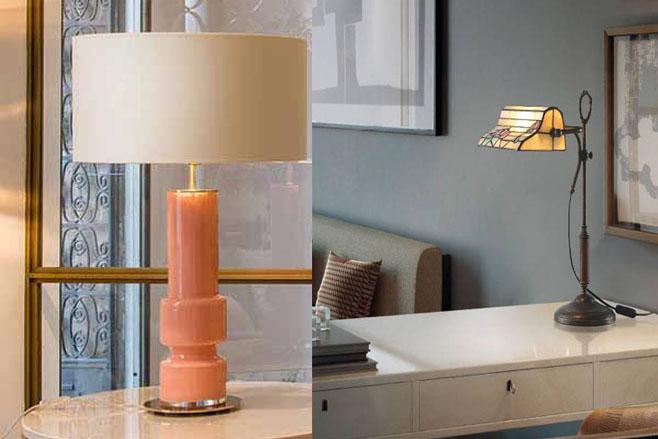 L mparas de sobremesa para estancias de estilo moderno for Lamparas sobremesa modernas