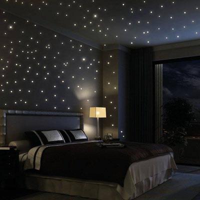 Instalar leds en el techo simulando cielo estrellado