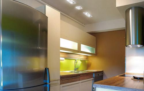 Iluminar la cocina con sistemas led