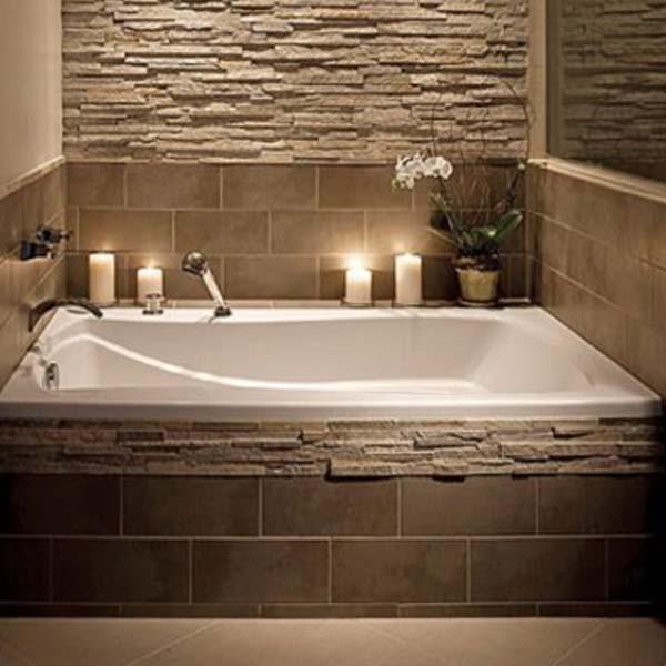 Baños Con Bañera | Banos Estilo Spa Crea Tu Pequeno Rincon De Relax