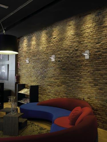 decorar la pared con piedra