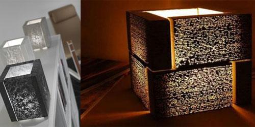 lamparas de hormigon translucido