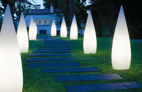 Iluminacion exterior de jardines