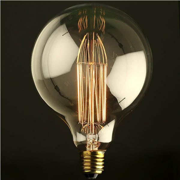 Bombilla decorativa de filamentos tipo Edison