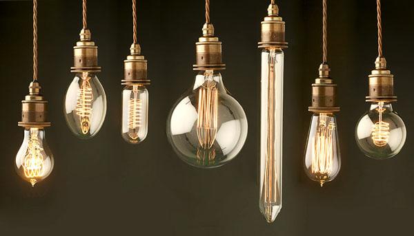 Bombillas retro - vintage filamentos decorativos