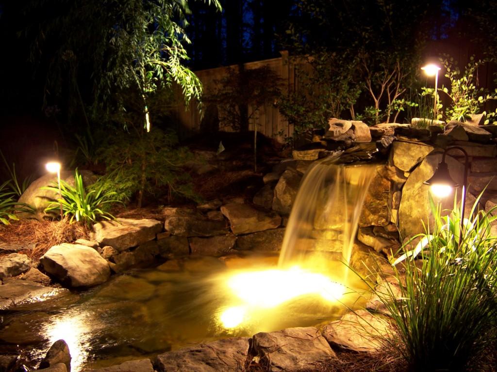 Ideas para iluminaci n exterior aprovecha tu jard n y terraza las noches de verano - Iluminacion jardines pequenos ...