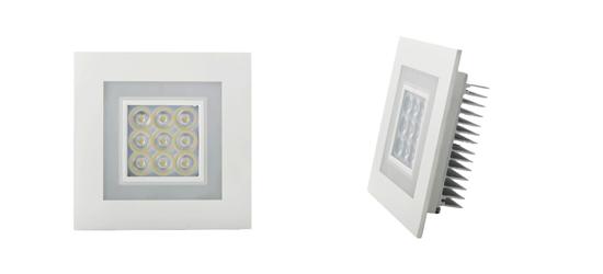 Empotrable LED para el techo -