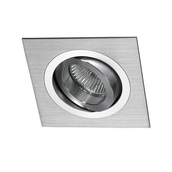 Empotrable aluminio cuadrado