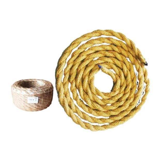 Cable decorativo tipo cuerda almacen rustica