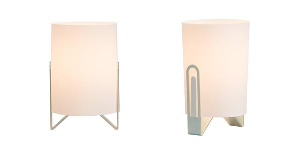 Lámpara en forma de clip