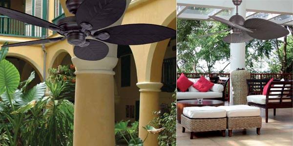 como elegir ventiladores de techo con luz