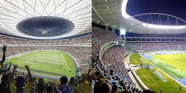 Iluminacion en el mundial de brasil 2014 en Lamapras.es