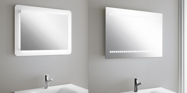 Foto espejos con luz led marca Salgar