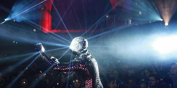 performance Festival de la luz