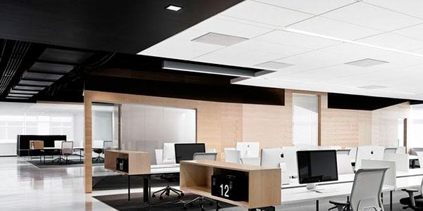 Iluminación oficina