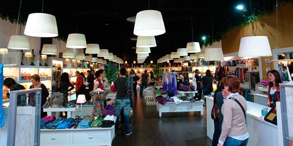 iluminación tienda