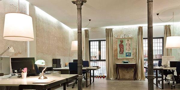 Iluminación oficina estilo Retro Vintage