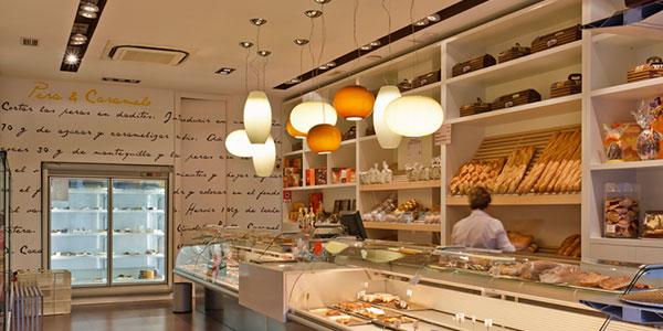 iluminación panadería