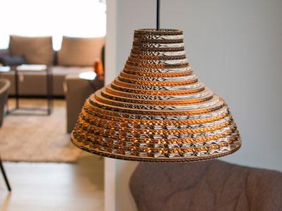 lampara-carton-diseño