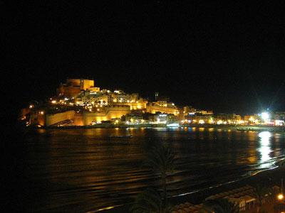 peñiscola-noche