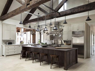 cocina-iluminacion-rustica