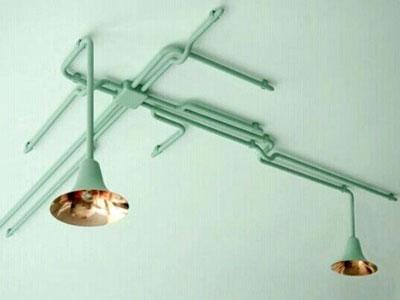 lampara-tuberia-techo