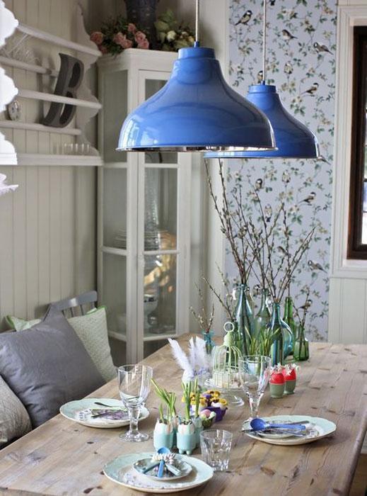 lampara-comedor-azul