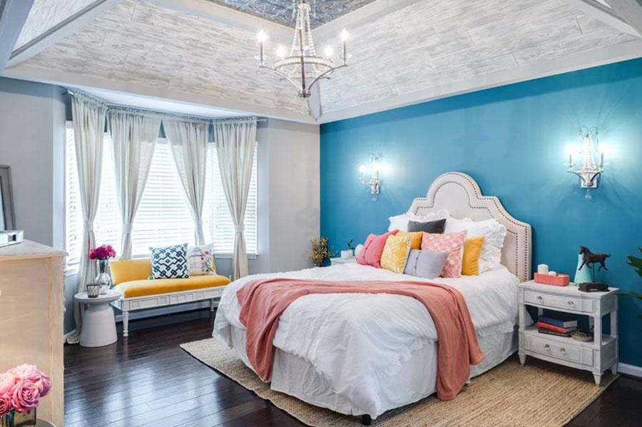 dormitorio-lampara-techo-clasica