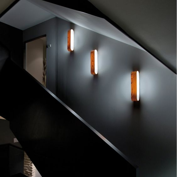 Aplique de pared escaleras