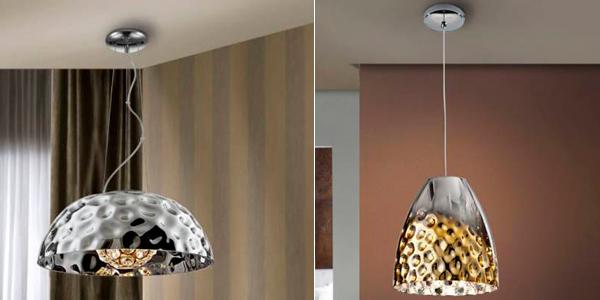 iluminacion con lamparas de techo led