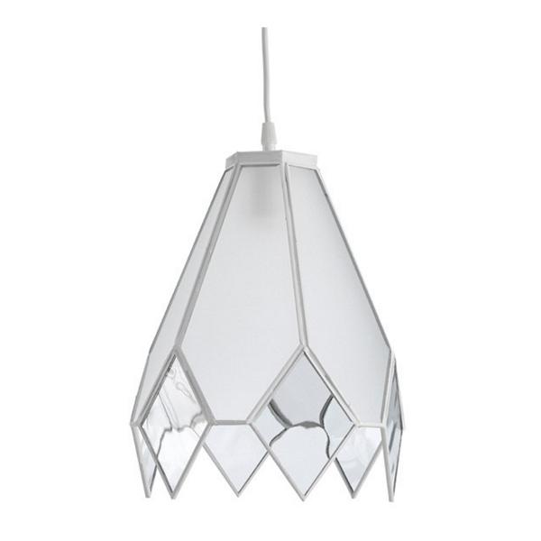 Lámpara Opal Alderamin (blanco). Precio 71,95.