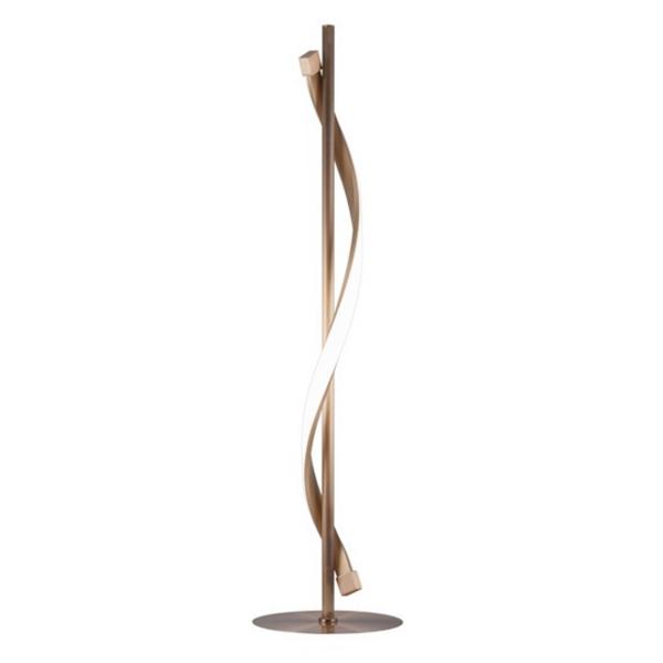 Lámpara auxiliar cobre Led Stefany (15W). Precio 132,95 euros.