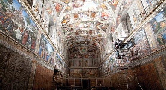 iluminación-led-capilla-sixtina