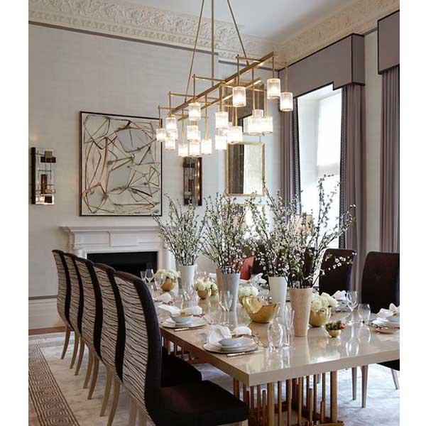 Grandes consejos e ideas para iluminar la mesa de tu comedor ...
