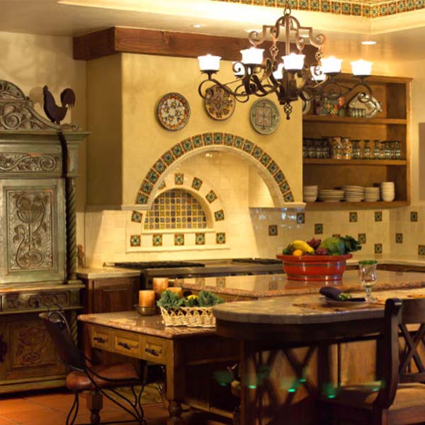 Cocinas iluminadas con l mparas de techo de estilo r stico blog de - Lamparas techo rusticas ...