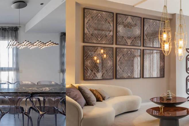 Incre bles ideas de l mparas minimalistas para tu hogar blog de iluminaci n - Lamparas para salones modernos ...