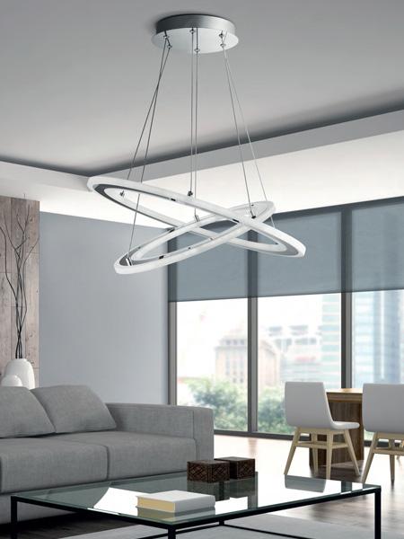 Lámparas modernas de salón