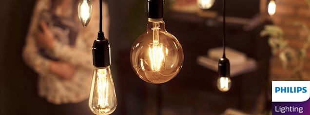 Lámparas y bombillas de Philips