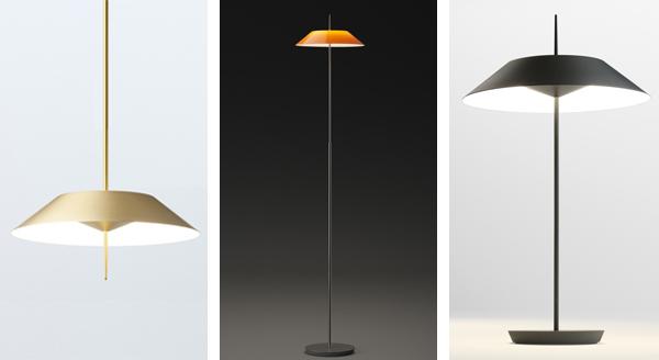 Coleccion de lamparas de diseño Mayfair Vibia