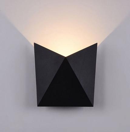 Aplique de pared con baño de luz beekman