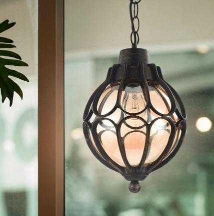 Lámpara de techo para exteriores Elysees