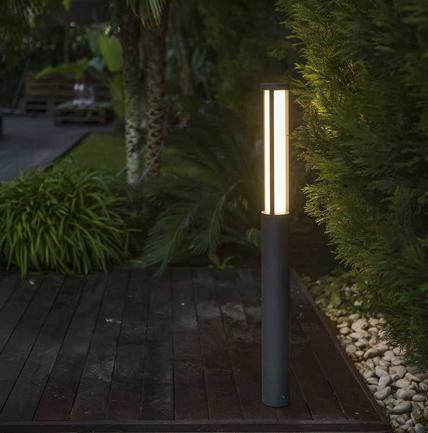 iluminación exterior baliza