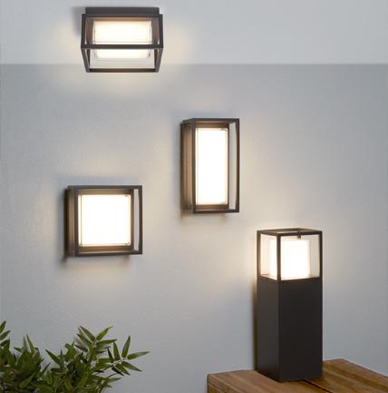 Colección Ohio de lamparas para exteriores