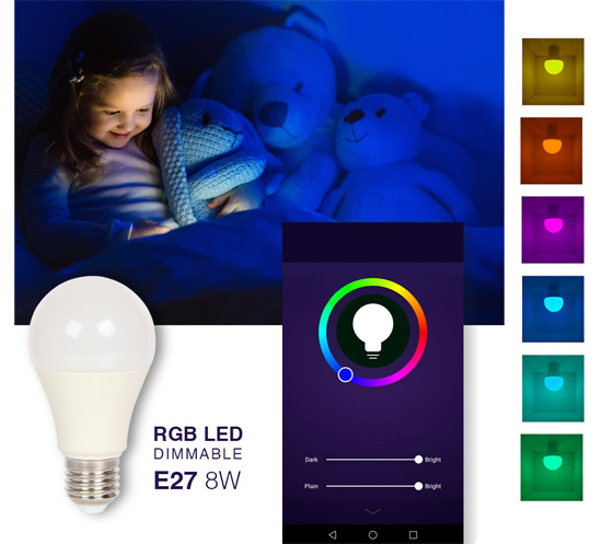 Bombilla iluminacion inteligente SmartLighthing