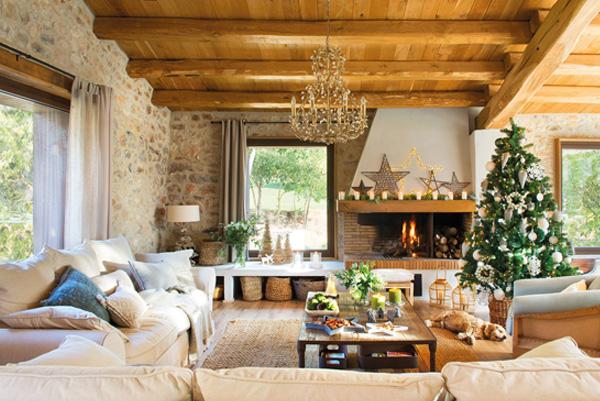 Lámparas navideñas para decorar salones